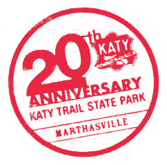 Sample of Ticket Book Program stamp.